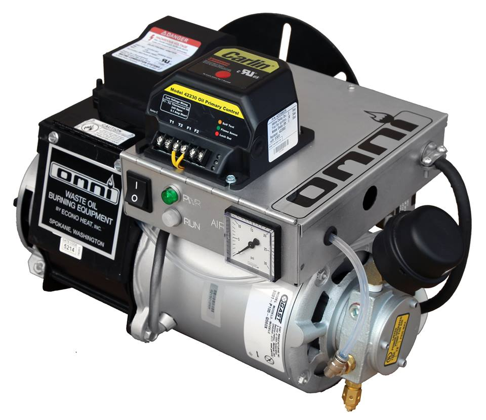 on board air compressor. omni waste (used) oil burner: controlls and on-board air compressor. on board compressor